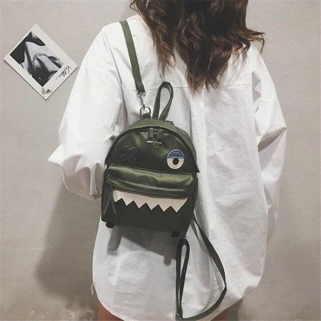 Рюкзак с монстром корейский Стиль 4