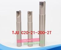 TJU C20 21 200 Schulterstirnfräser Für Fräsmaschine  bohrstange  Drehmaschine Drehwerkzeuge  CNC Fräser|Fräser|Werkzeug -
