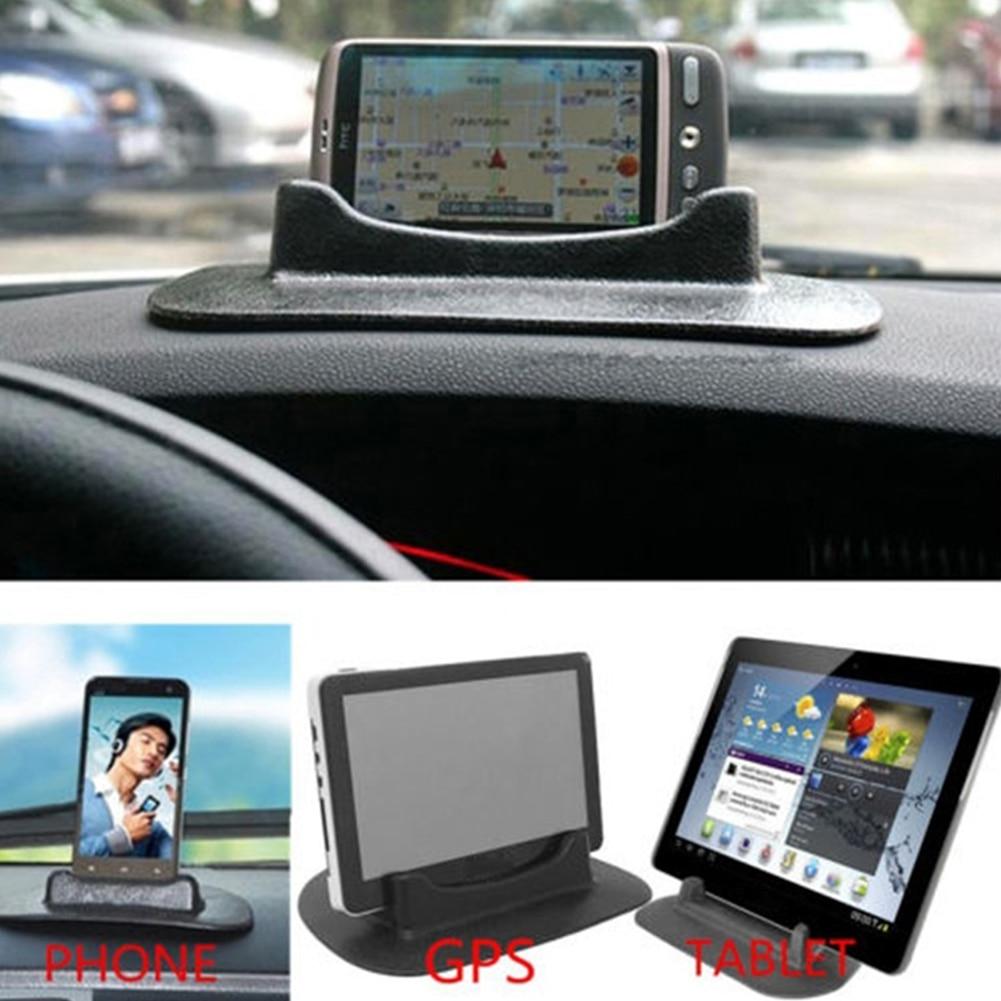New Black Car Mobile Phone Holder Dashboard Sticky Pad Mat Anti Non Slip Gadget GPS Interior Item Accessories