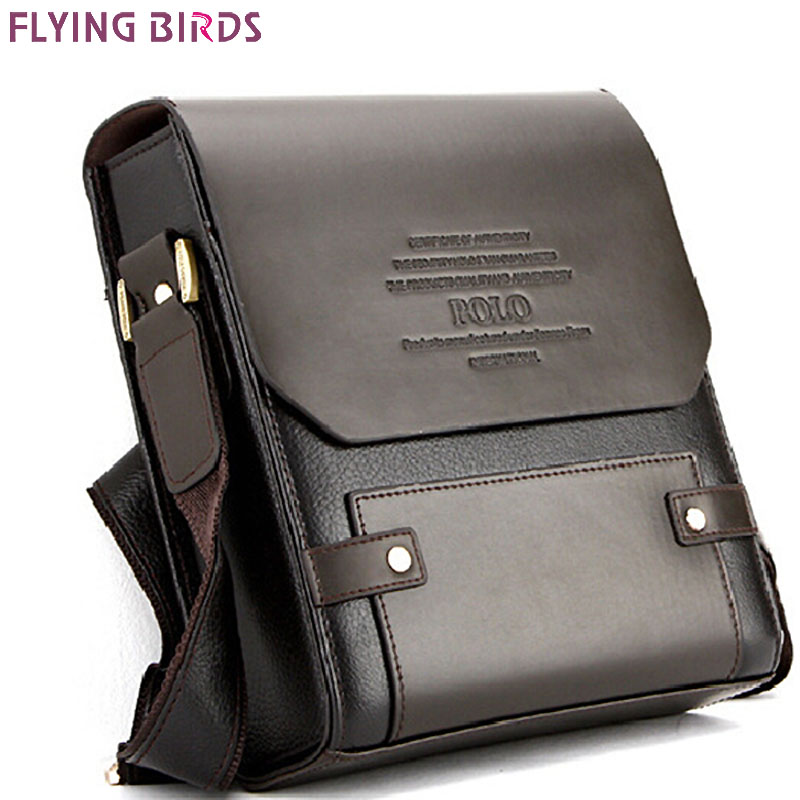 Flying Birds ! Men pu leather Casual s