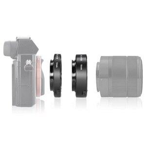 Image 5 - Meike automatyczne ustawianie ostrości pierścienie pośrednie makro pierścień dla Sony E do montażu na A6300 A6500 A6000 A7 A7II A7III A7SII NEX 7 NEX 6 NEX5R NEX 3N NEX 5