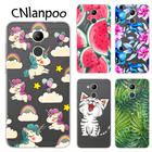CNlanpoo Case For Huawei Honor 6C Pro Case Design Soft TPU Silicone Back Protective Case Cover For Huawei Honor V9 Play Fundas
