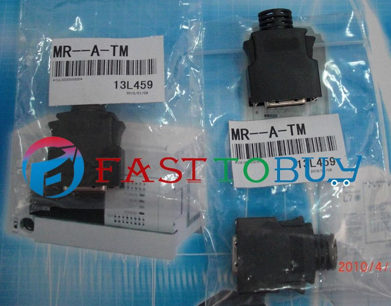 1 pc NEW MR-A-TM Compatible Mitsubishi Servo  Connector One Year Warranty new mr bks1cbl5m a1 l compatible mitsubishi servo brake cable 5m year warranty