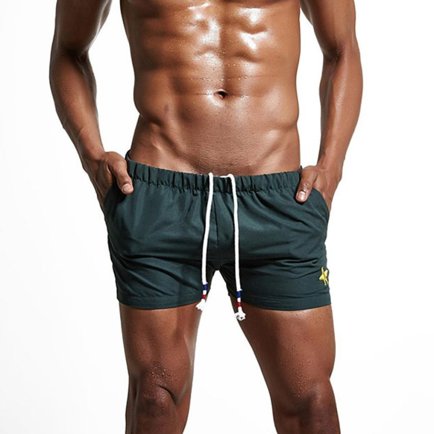 Mens Breathable Swim Trunks Pants Swimwear Shorts Slim Wear Bikini Swimsuit Shorts for swimming Bathing Suit Mayo Swim Suit