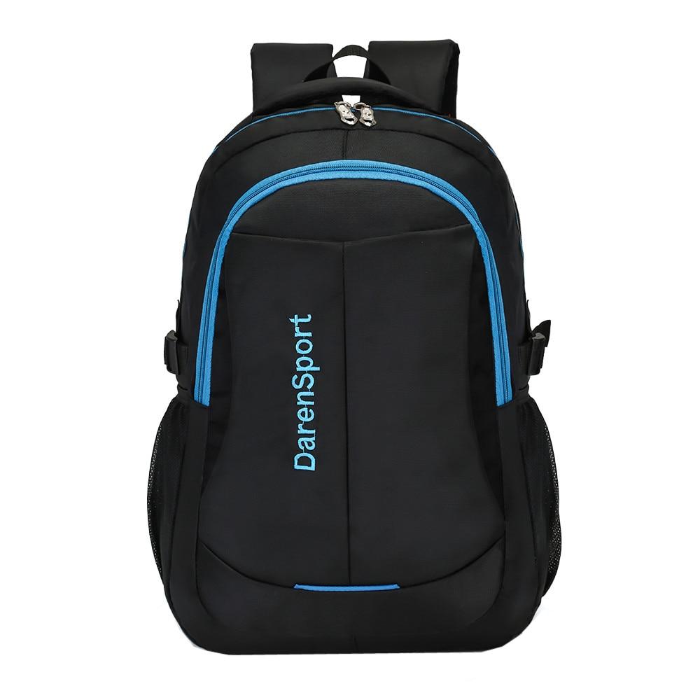 Causl Neutral Men Nylon Backpack Solid Color Men Travel Student School Laptop Bag 2018 new design high quality Backpack 1277 цена