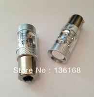 50w AMBER CANBUS ERROR FREE CREE PY21W 581 BAU15s Offset Pins LED CAR TURN SIGNAL LIGHT