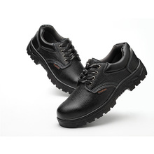 AC13006 Men's And Women's Sports Oxford Shoes Steel Toe Anti-static Anti-smash Anti-skid Safety Working Shoes Rubber Outsole