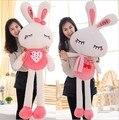 Большой размер Плюшевый Кролик Игрушка День святого валентина подарок Девушки Рождественский подарок Куклу