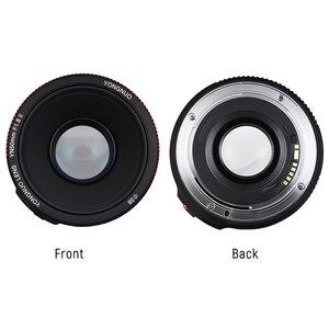 Image 5 - YONGNUO YN50mm YN50 F1.8 השני מצלמה עדשת EF 50mm AF MF עדשות עבור Canon Rebel T6 EOS 700D 750D 800D 5D Mark II IV 10D 1300D