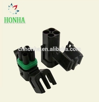 DJ3041Y 2.5 11 21 10 Sets Enhanced Seal 4 Pins Female Male Connector Plug For Car Delphi 2.5 Series New