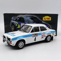 Rally 1:18 Ford Escort MK1 Далли Mlrror #4 1972 Esso Uniflo игрушки моделей автомобилей Ограниченная серия коллекции