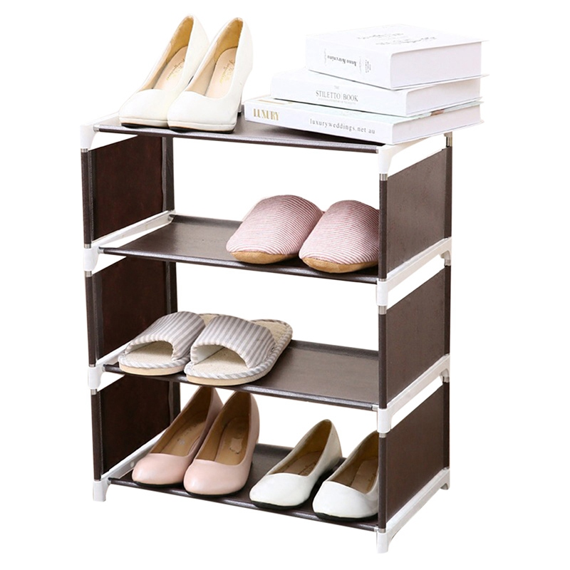 New Storage Shoe Rack Hallway Cabinet Organizer Holder Removable Door Shoe Storage Cabinet Shelf DIY Living Room Furniture