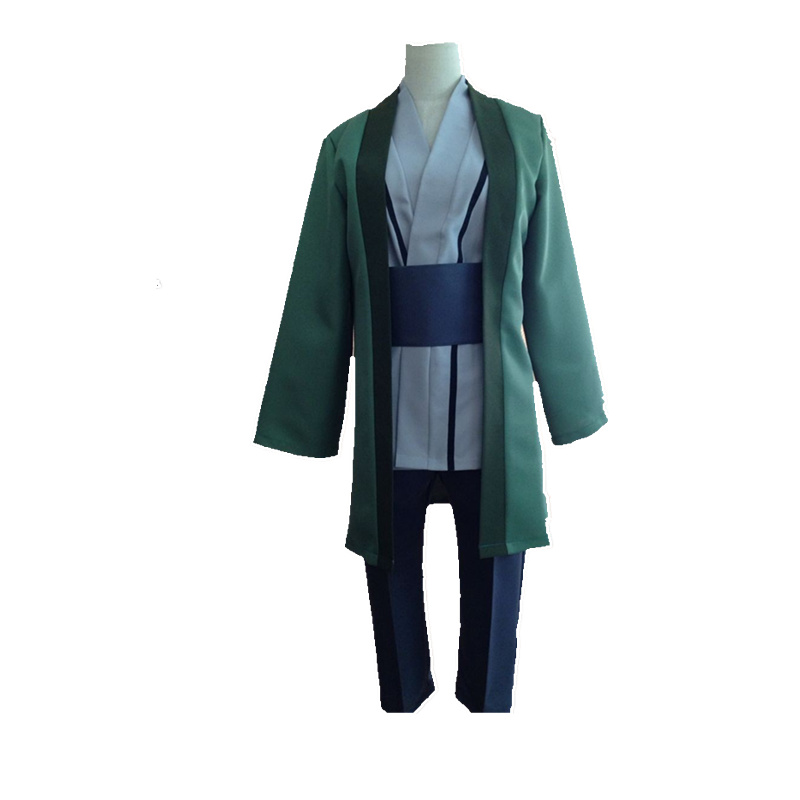 Free Shipping Naruto Tsunade Cosplay Costume New in Stock Retail Halloween Christmas Party Uniform