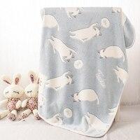 Blau Schläfrig Kätzchen Katzen Rest Flanelldecke Hunde Kissen warme Schlaf Nickerchen Abdeckung Matte Quilt Plüsch Teppich Korallen Fleece zubehör