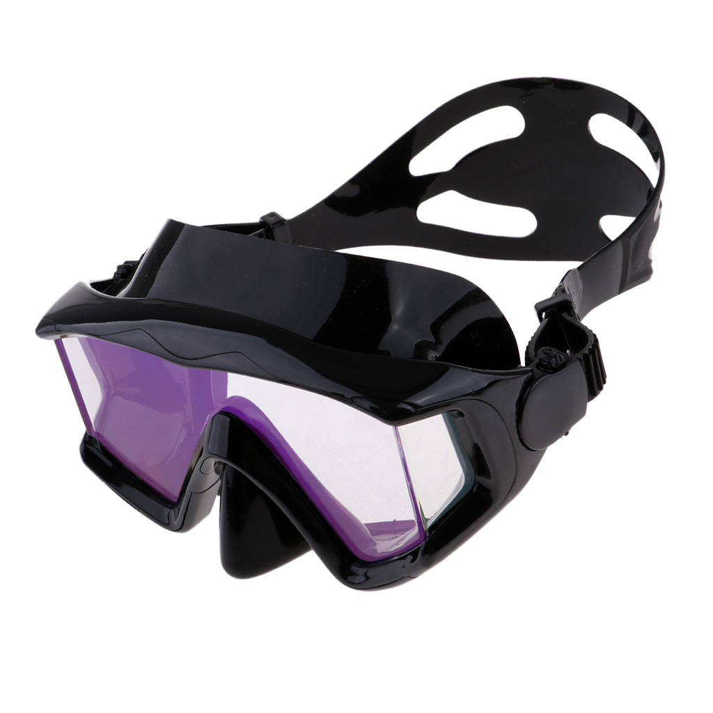 Silicone Diving Mask Adult Scuba Tempered Glass Goggles Snorkeling Eyewear For Swimming Diving Underwater Activities