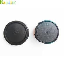 10 Pairs camera Body cap + Rear Lens Cap for CANON FD Camera lens DSLR