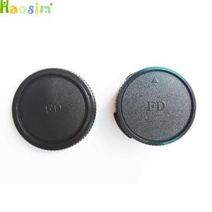 Image 1 - 10 пар крышки корпуса камеры + Задняя крышка объектива для объектива камеры CANON FD DSLR