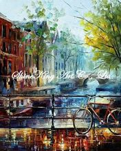 palette knife oil painting  modern oil painting canvas oil painting  K581