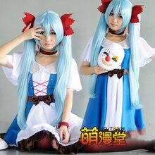 Vocaloid Hatsune Miku Vocaloid cos vestido de payaso ver cosplay traje adulto animado ropa