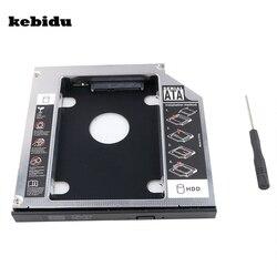 Kebidu AK SATA 3.0 Sata HDD 캐디 12.7 미리메터 SSD 케이스 인클로저 Optibay 대한 IBM 레노버 씽크 패드 R400 R500 T420 T430 T520