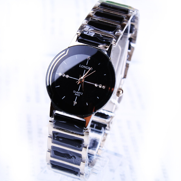 Longbo Brand Ceramice Dress Lady Gift Waterproof Luxury Watch Quality Wristwatch