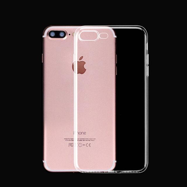 Funda protectora suave transparente 360 de lujo para iphone xs para iphone 6 s iphone x 7 8 plus 5 5S 6 se xr xs max