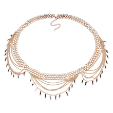 Fashion belly chain belt Waist Beach Belly Chain Multi-chain pendant Sexy Body Chain Women tassel trendy Boho Body Jewelry fashion cross pendant multi layered decussate body chain for women