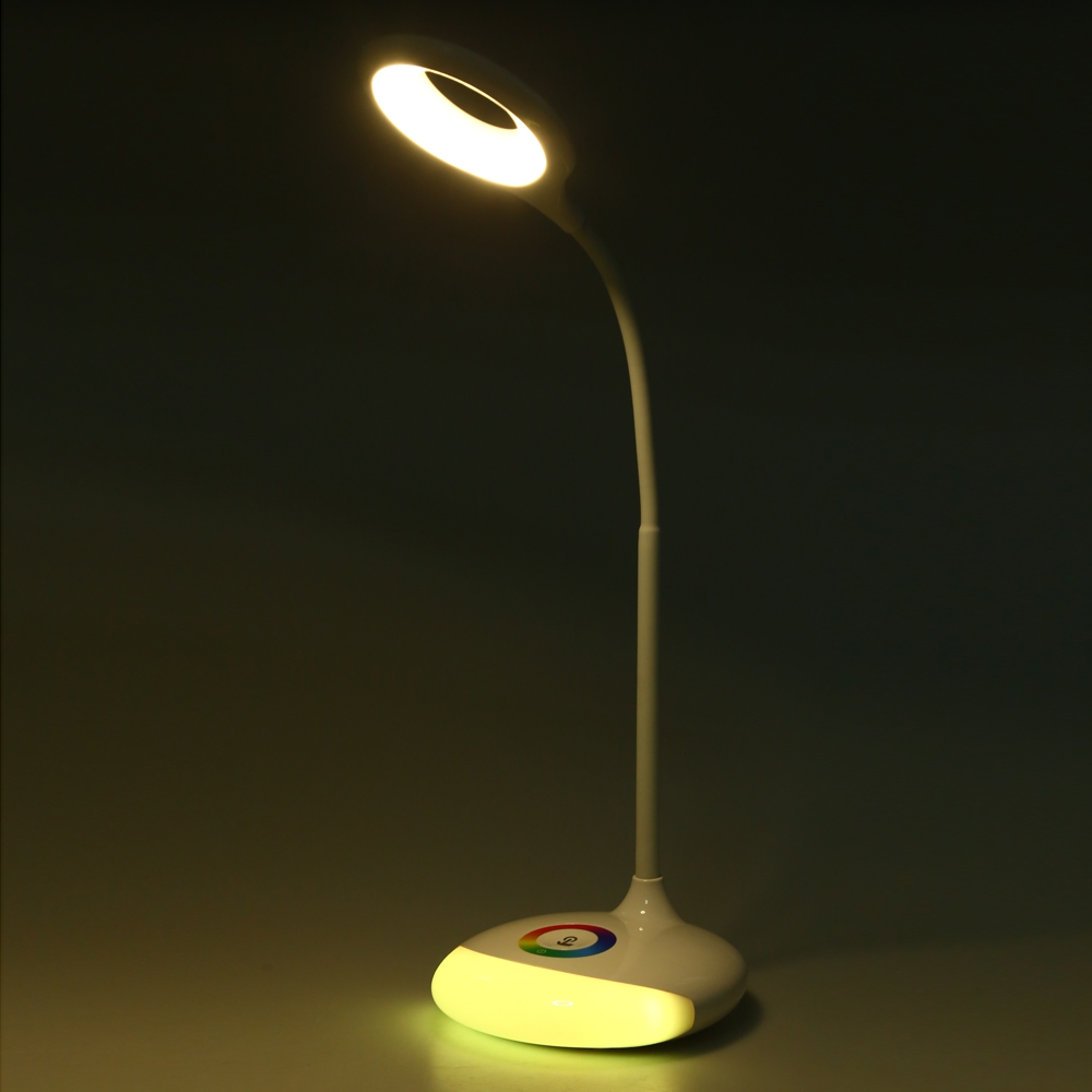Rechargeable led table lamp usb touch sensor led dimmable desk rechargeable led table lamp usb touch sensor led dimmable desk lamp adjustable rgb nightlight color changeable in desk lamps from lights lighting on geotapseo Choice Image
