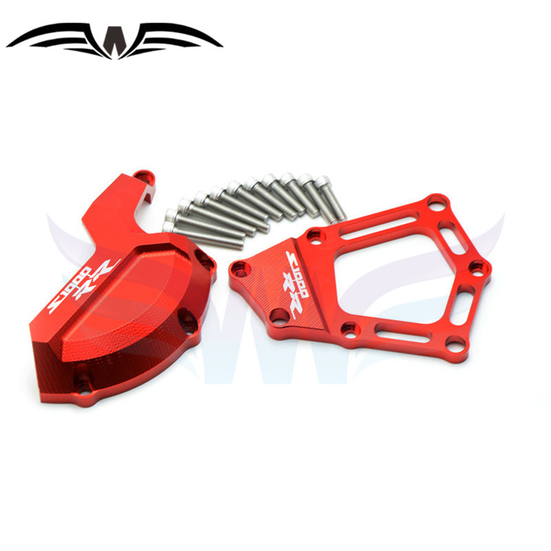 ФОТО new motorcycle Engine Saver Stator Case Guard Cover red color Engine protector guard cover For BMW S1000RR HP4 K42 K46 2009-2015
