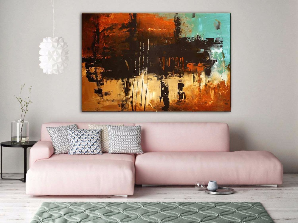 Handmade high quality thick knife abstract oil painting Twilight abstract on Canvas Painting Picture Decor Oil Painting artworkHandmade high quality thick knife abstract oil painting Twilight abstract on Canvas Painting Picture Decor Oil Painting artwork