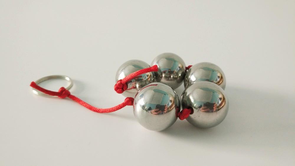 SHELE Anal Balls Stainless Steel Anal Beads Butt Plug Metal Kegel Ball Vagina Ben Wa Balls Buttplug Sex Toys For Women/Men/Gay 7