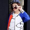 2016 New Fashion Women Arrival Jacket Casual Winter Jacket Women Small Elegant Baseball Jackets Lady Tops Coat D057
