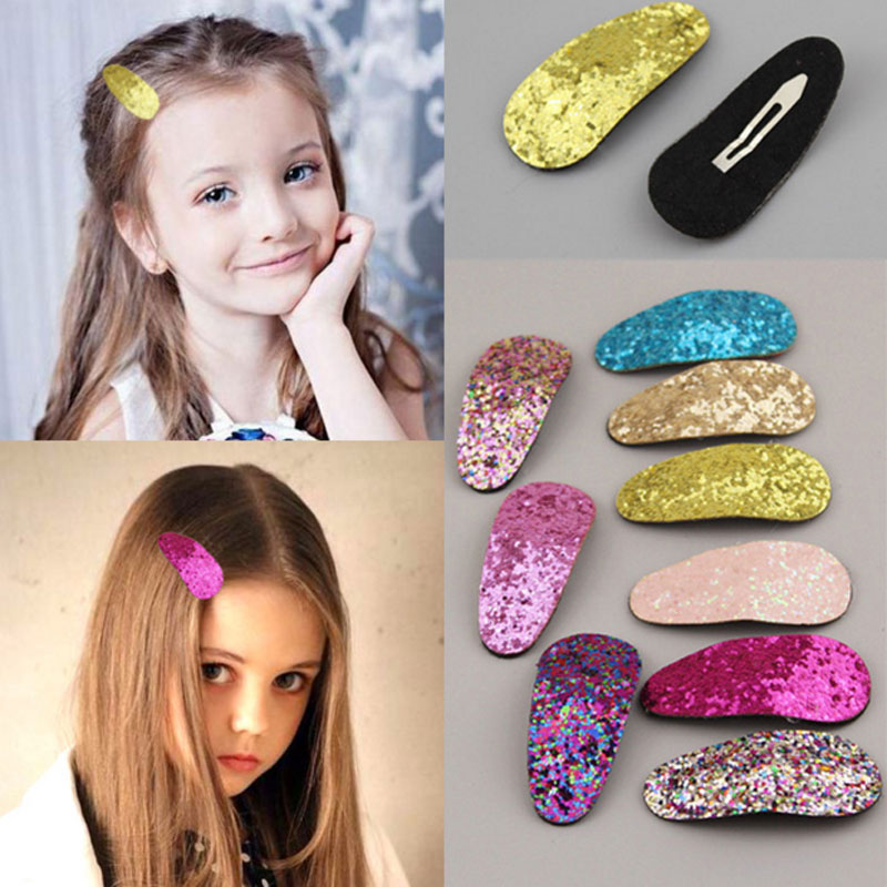 M MISM Girl Sequins Cute Hairpins Shiny Colorful Kids Accessories Crystal Hairgrips New Arrival Hair Clip Headwear Hair Bands m mism girl cute hairball hairpins lovely colorful hairgrips kids accessories new arrival hair clips headwear best gift to kids