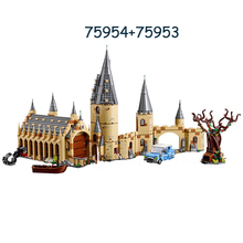 New Hogwar Whomping Willow Compatible Potter 75953 75954 Model Building Blocks Bricks Toys Kids Gifts Christmas