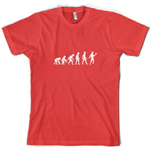 Evolution Of Man Acting - Mens T-Shirt 10 Colours Actor Actress Act Print T Shirt Short Sleeve Hot Tops Tshirt