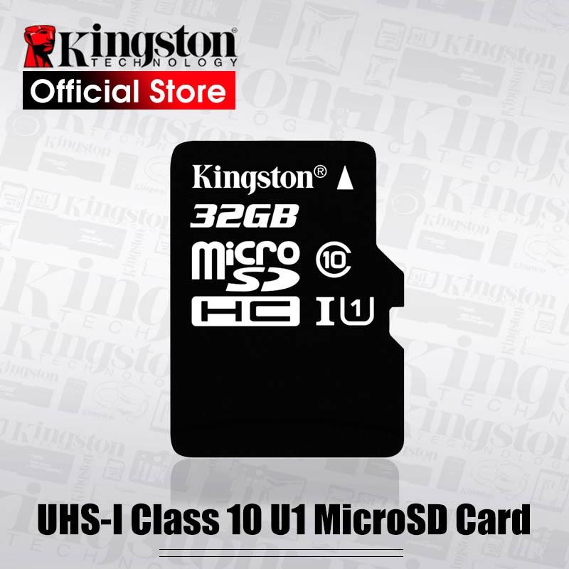 Kingston Micro SD Tarjeta de memoria SDHC de 16GB Teléfono Móvil Microsd Tf Clase 10 80MB//s