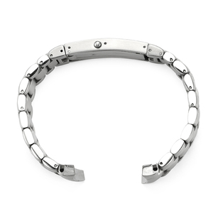 Image 3 - IStarp 20mm Uhr Strap Solide Edelstahl Silber Uhr band für Omega Seamaster Planeten Ozean Stahl Armband 1589/858