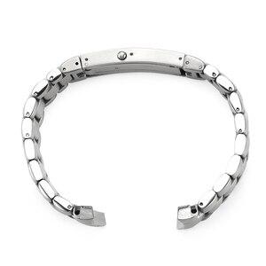 Image 3 - Istarp 20 Mm Horloge Band Solid Roestvrij Staal Zilveren Horloge Band Voor Omega Seamaster Planet Ocean Stalen Armband 1589/858