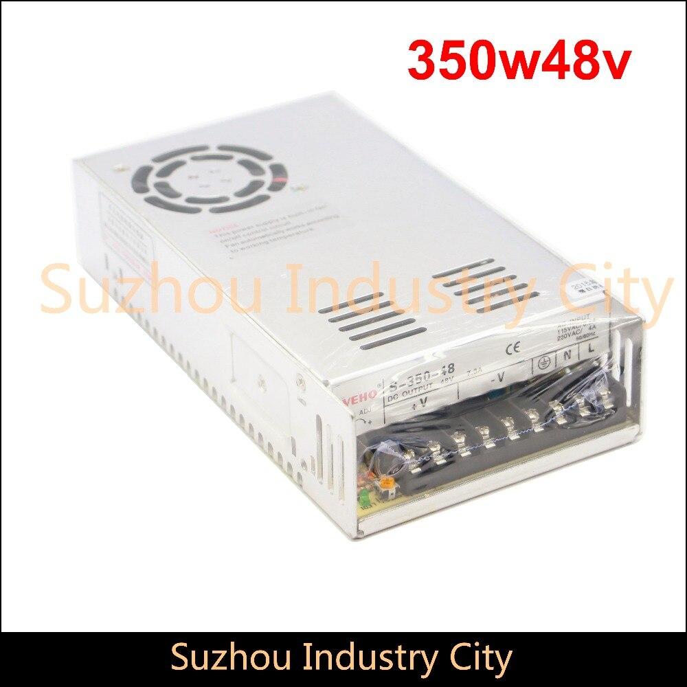 цена на DC Switching Power supply 110V / 220V  input 350W output 48V DC Power Supply Switch Power Supplies! High Quality!