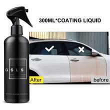 300ML Car wax coating Full Car Nano Coating Liquid Coating Spray Hydrophobic Spray Wax Car spray wax car cleaning