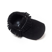 brand Newborn Shoes First Walkers black color baby moccasins Soft Bottom tollder baby girls shoes boys  Bebe hot moccs  bx163