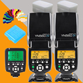 Для Nikon Canon DSLR Камеры Мастер ЖК Вспышка speedlite YONGNUO YN560 IV YN560IV YN560-IV X2 + YN-560TX Беспроводная Вспышка Контроллер
