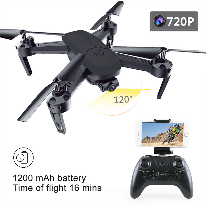 lensoul RC Drone 360 Degree Rolling 16 Mins WiFi FPV Real-Time 480P/720P HD Camera 120 Degree Wide Angle Lens Quadcoptor bering часы bering 11435 765 коллекция ceramic