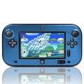 Azul Anti-choque de Protección De Plástico Duro Caja Del Metal de Aluminio Caso de la Cubierta de Shell Para Nintendo Wii U Gamepad