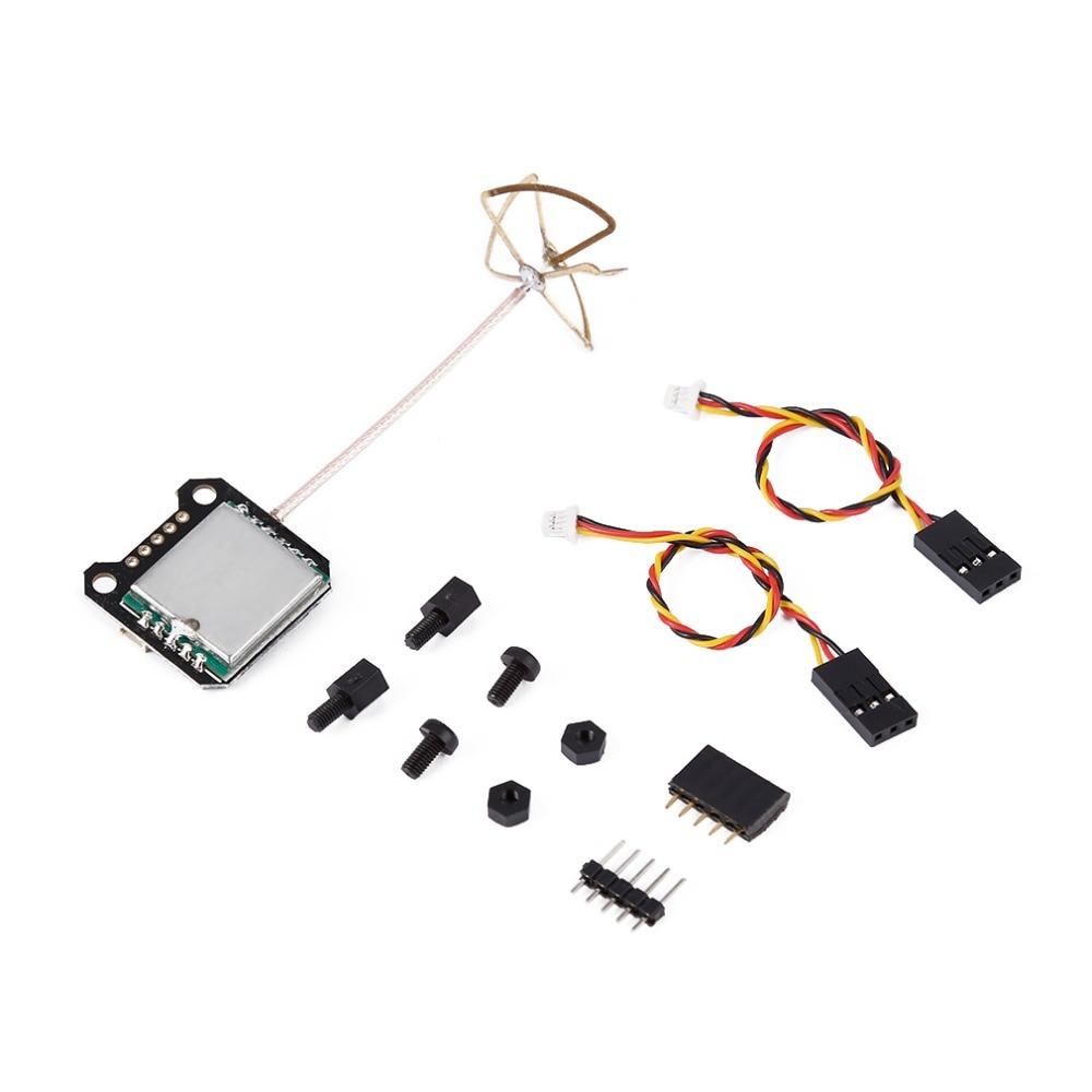 Mini VTX OSD Board 5.8G 40CH 25mw-200mw Mini 20x20mm FPV Transmitter Integrated OSD RHCP Antenna for PIKO BLX Compact Size eachine ts5840 upgraded 40ch 5 8g 200mw wireless av transmitter tx for fpv multicopter