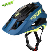 BATFOX 2018 Ultralight Cycling Helmet MTB Intergrally-molded Bike Helmet Mountain Road Bicycle Helmet Safe Men Women Helmets M/L