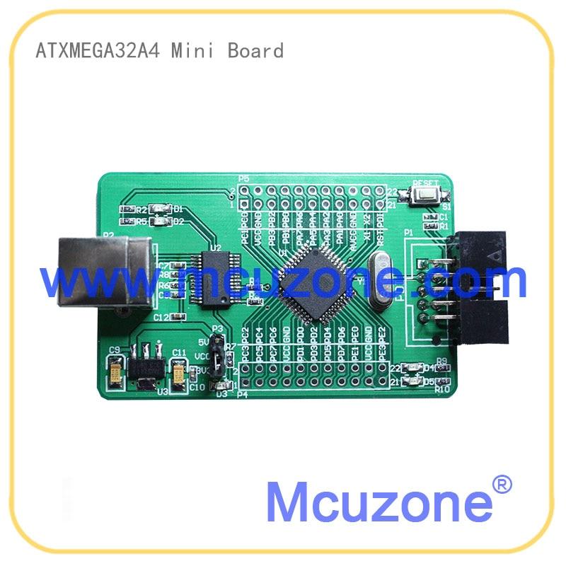 ATxmega32A4 Development Kit 1.8'TFT LCD 128*160 XMEGA32A4 32A4 ATMEL MICROCHIP PDI