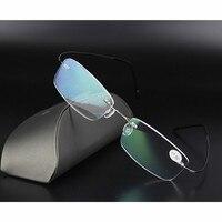 Brand Reading Glasses Men TR90 Titanium Oculos De Grau Femininos Myopia Glasses Frame Slip Resistant Eyeglasses