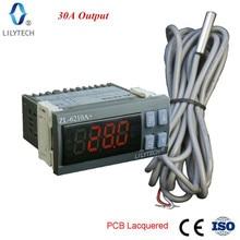 ZL 6210A +, 30a saída, controlador de temperatura, termostato digital, lilytech