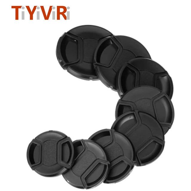 TiYiViRi Nắp Ống Kính 49 52 55 58 62 67 72 77 82mm Đa Năng Camera Đế Ống kính Chống dành cho Máy Ảnh Canon Nikon Sony Olypums